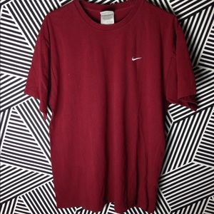 Vintage Nike short sleeve swoosh check t shirt
